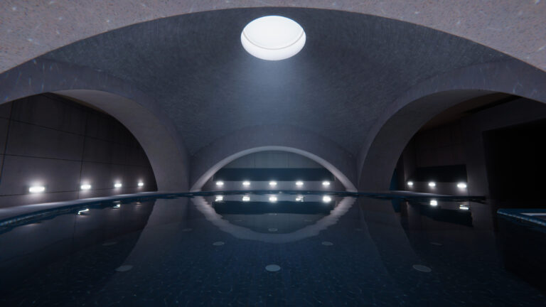 Architectural Model, 3D Assets, Texturing, Rendering